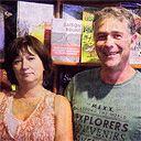 Valérie et Patrice Boudier, dirigeants de La Bande Dessinée