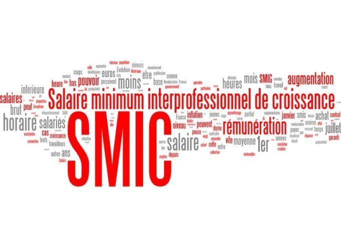 Salariés rémunérés au Smic :