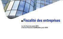 Les mesures fiscales 2016 pour les entreprises