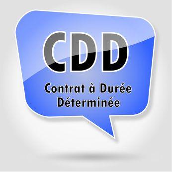 Modèle de CDD pour remplacer un salarié provisoirement absent (terme imprécis).