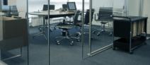 Bureau vide accueille créateur d'entreprise…