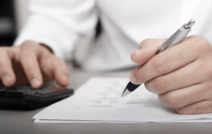 Le montant de l'Aide à la reprise ou à la création d'entreprise provisoirement diminué