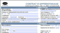 Un nouveau modèle de contrat d'apprentissage depuis le 1er juillet 2012