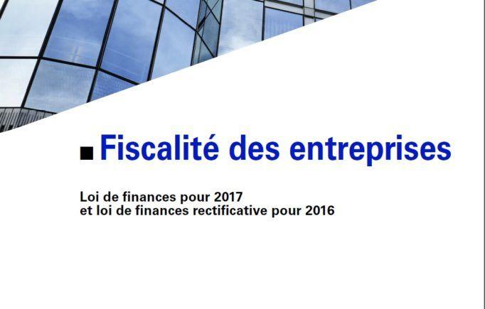 Les mesures fiscales 2017 pour les entreprises