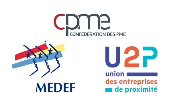 Le Medef, la CPME et l'U2P reconnues comme organisations patronales représentatives