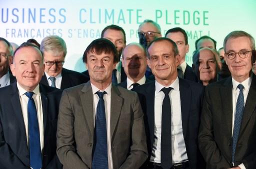 French Business Climate Pledge 2017: « Les entreprises ont un rôle central à jouer pour répondre au défi climatique »