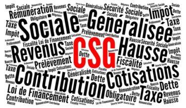 CSG : taux en augmentation de 1,7 point depuis le 1er janvier