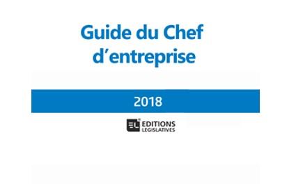 Le guide du chef d'entreprise 2018