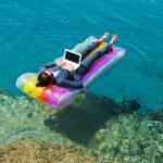 En vacances, près de la moitié des entrepreneurs ne déconnectent pas