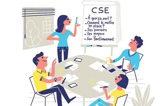 Élection du CSE (Comité social et économique)