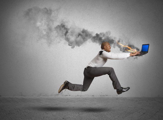 Informatique : les PME sont à la peine